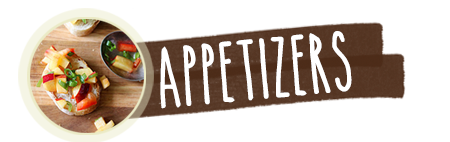 featured recipes movil appetizers